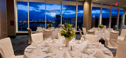 Event Facility with Views of Downtown Vancouver
