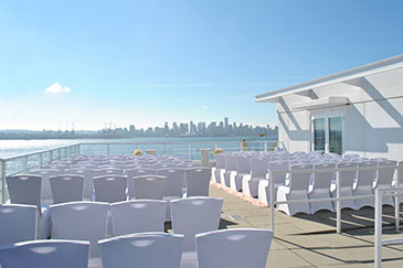 Roof top Terrace Ceremony Venue