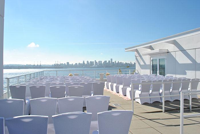 Roof Top Terrace Ceremony Venue